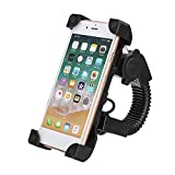 CORASS Motorcycle Phone Mount with USB Charger Port,Bike Motorcycle Cell Phone Holder Mount