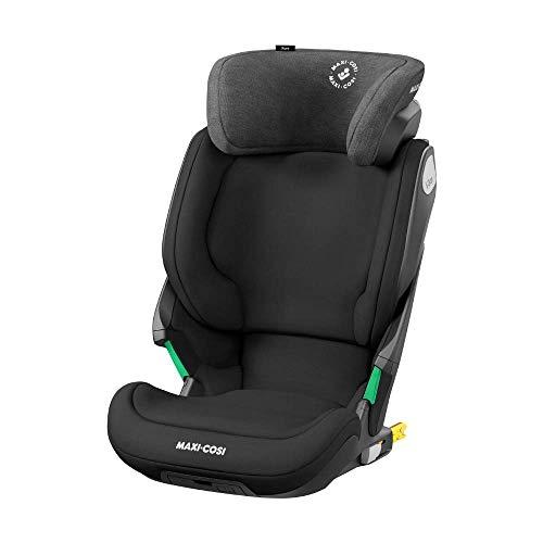 Maxi-Cosi Kore i-Size Kindersitz, Mitwachsender Gruppe 2/3 Autositz mit ISOFIX (15-36 kg), Kinderautositz mit Maximalem Seitenaufprallschutz, Nutzbar ab ca. 3, 5 Jahre bis 12 Jahre, Authentic Black
