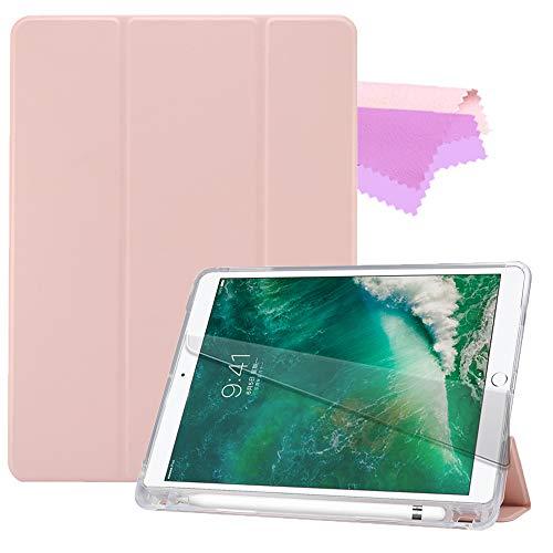 Billionn Capa para iPad 9.7 polegadas, 2018/2017/iPad air/iPad air2, capa ultrafina, leve, inteligente (com acordar/soneca automático), preta
