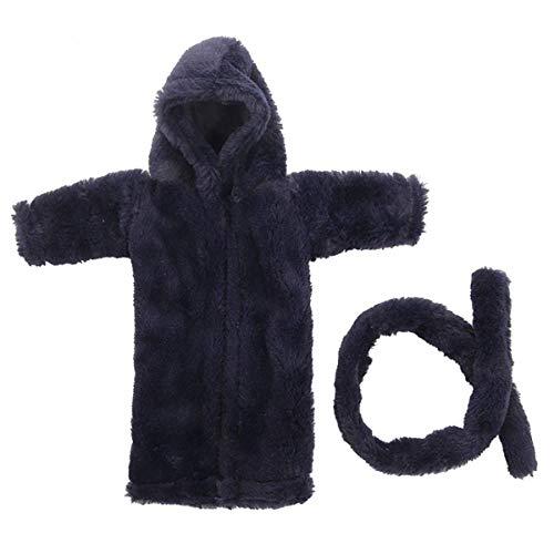 Uteruik Poppen Robe Slaapmode Pyjama Nachtjapon Kleding voor 46cm(18 inch) Onze Generatie Meisjes Pop