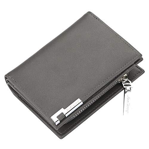 male wallets Men Wallets Business Short PU Leather Card Holder Male Purse Coin Holder Men Wallet Portomonee
