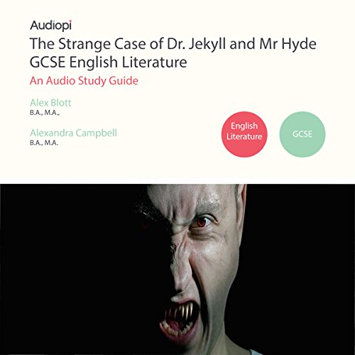 The Strange Case of Dr Jekyll and Mr Hyde English Literature GCSE audiobook cover art