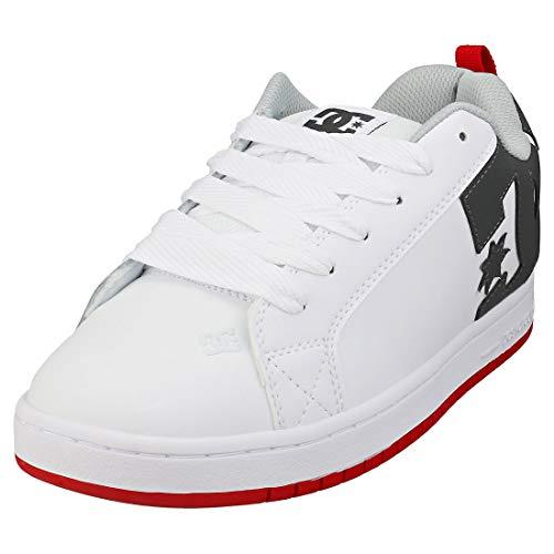DC Shoes Court Graffik - Leather Shoes - Lederschuhe - Männer - EU 43 - Weiss