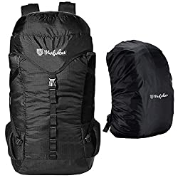 Mufubu Presents Fearless 60 Ltr Rucksack for Trekking, Hiking, Travelling Backpack (Black)