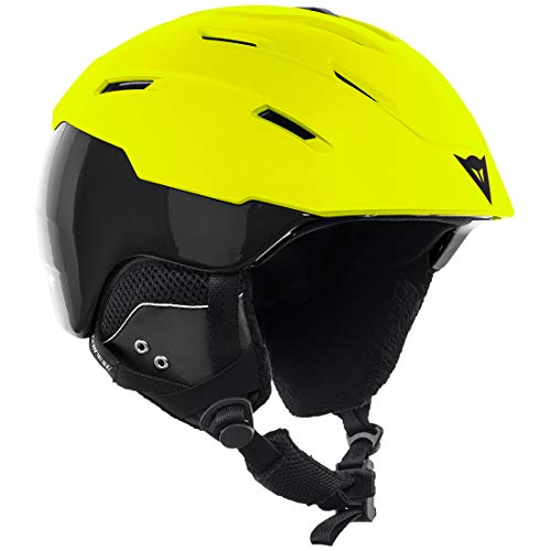Dainese Skihelm D-Brid Lime-Punch Stretch-Limo, L-XL