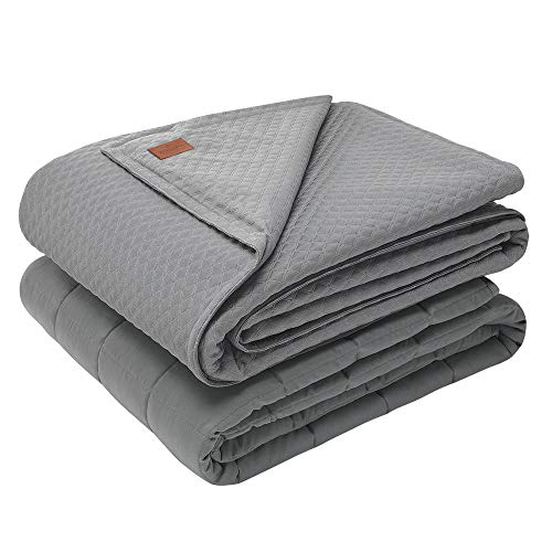 Pendleton Gewichtsdecke für Erwachsene, 6,8 kg, 121,9 x 182,9 cm, schwere Decke für erholsamen Schlaf