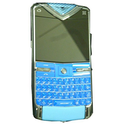 Vertu Constellation Quest RM-582V 8GB QWERTY Keypad (GSM Only, No CDMA) (Limited Edition #24/77, Collectors Item) Factory Unlocked 3G Mobile Phone - Blue