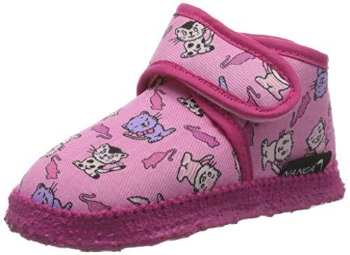 Nanga Mädchen Mädchen-Hausschuhe Kätzchen pink 21
