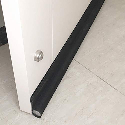 Türdichtung Zugluftstopper Türbodendichtung Luftzugstopper, Lärmschutz Wärmedämmung - 94.5 cm