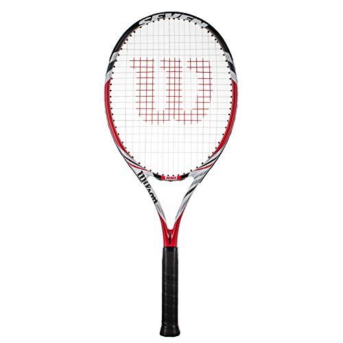 Wilson Seven 100 - Raqueta de tenis para adultos (Grip 3 (4 3/8))