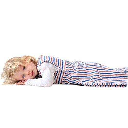 Merino Kids Duvet-Weight Baby Sleep Bag, Winterschlafsack für Babys 0-2 Jahren, Banbury/Himbeere