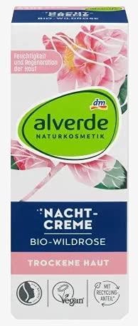 Nachtcreme Bio-Wildrose - Alverde