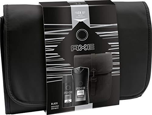 AXE Geschenkset Black (Bodyspray 150ml +Duschgel 250ml + Rucksack)