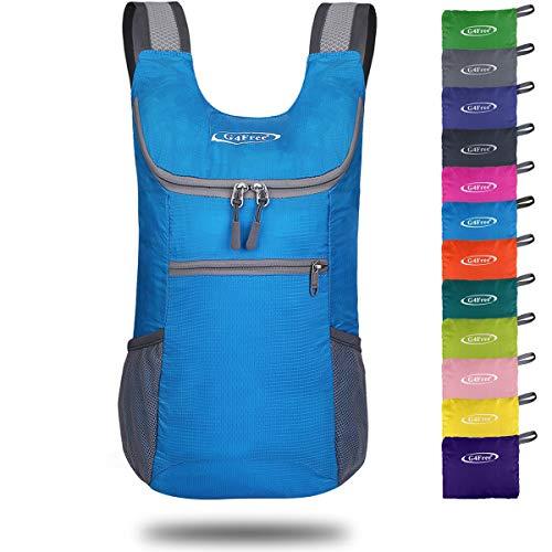 G4Free Faltbarer Rucksack Leichter Tagesrucksack Klein 130g Unisex Packbarer Reiserucksack Wanderrucksack für Wandern Fahrrad