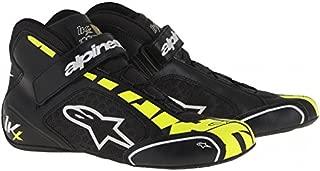 Alpinestars 2712113-125A-7.5 Tech 1-KX Shoes, Black/Yellow Fluorescent, Size 7.5