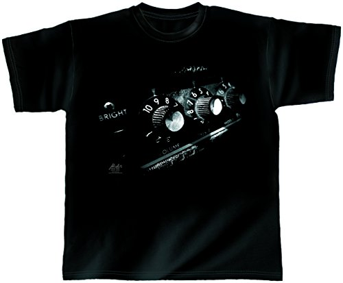 T-Shirt schwarz Astro Amp M