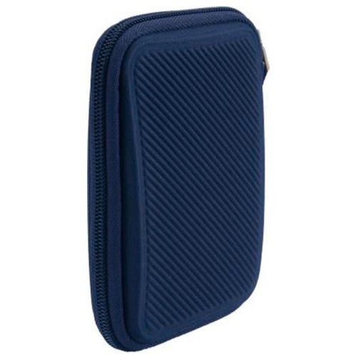 Case Logic EHDC-101Blue Hard Shell Case for 2.5-Inch Portable Hard Drive Dark blue