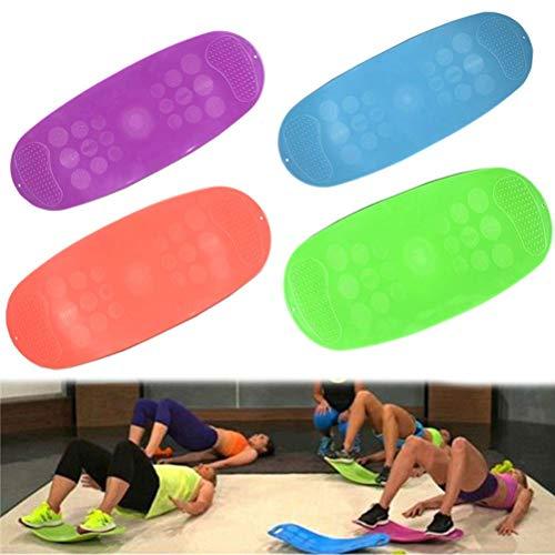Stylelove Vridbräda, praktisk balansplatta för helkroppsträning , torsion fitness balansbräda för magmuskler och ben balans fitness bräda yoga bräda