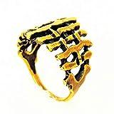 Flechtzaun Ring Für Frauen Bronze Ring