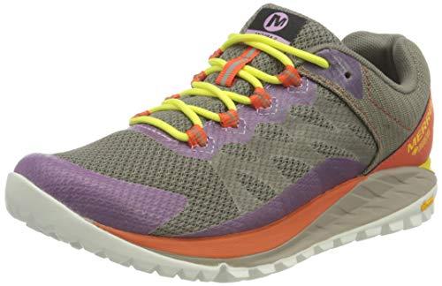 Merrell Antora 2 GTX, Zapatillas para Caminar Mujer, Gris (Brindle), 39 EU