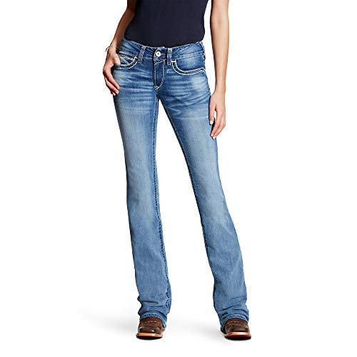 ARIAT R.E.A.L Mid Rise Entwined Boot Cut Jean