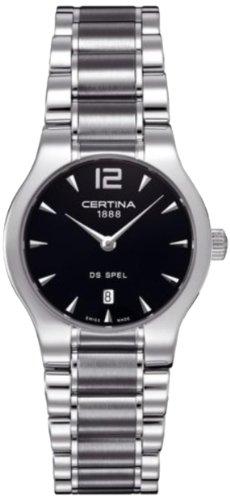 Certina Damen-Armbanduhr XS Analog Quarz Edelstahl C012.209.11.057.00