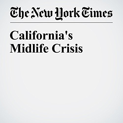 California's Midlife Crisis audiobook cover art