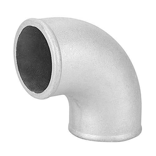 90 ° Codo de Tubo de Aluminio Fundido Turbo Intercooler 2,5 Pulgadas Curva Cerrada
