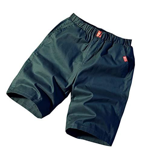 WSLCN Homme Rétro Baggy Cargo Shorts Coton Outdoor Court Pantalon Casual Multi-Poches Shorts de Combat F FR 34 (Asie L)