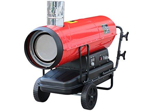 Rotek Öl-Indirektheizer 50 kW mit Kaminanschluss und eingebautem Thermostat, HOI-50-230-TI
