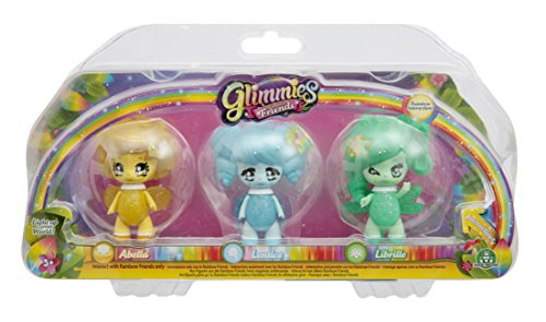 Glimmies Rainbow Friends - Abella Lentice Librille