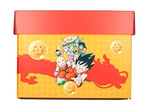 - Boite Carton Comic box DBZ - Dragon Ball- Taille 35 x 19 x 30cm
