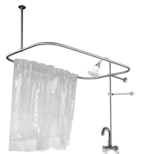 check Price Add on Shower for Clawfoot Tub with Riser &amp