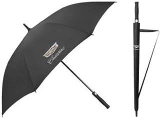 キャデラック Cadillac アンブレラ 長傘 雨傘 超撥水 紫外線遮蔽 UVカット 210T 骨数8 梅雨対策 晴雨兼用 収納袋付き 車専用傘 メンズ レディース 3色 [並行輸入品]