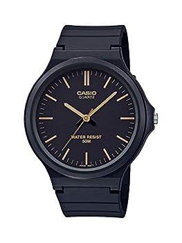 Casio Classic Quartz Watch with Resin Strap Black 21.45  Model  MW-240-1E2VCF