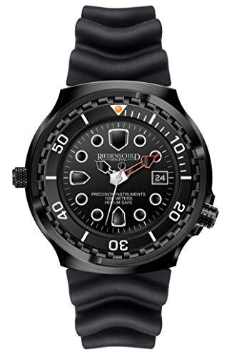 Riedenschild Herrenuhr 1000M Kampfschwimmer Black Watch Armee Taucheruhr Datum