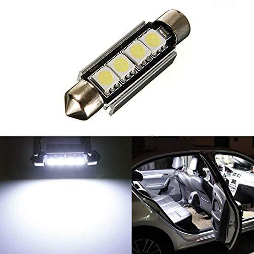 Coche LED Luz de techo Canbus Free Bulb Light Light Color Color Light Light Light 42mm Hudson Studio