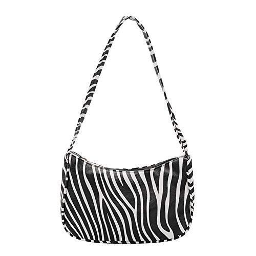 Modische Zebra-Tasche für Damen und Mädchen, große Umhängetasche mit Zebra-Aufdruck, modisch, lässig, modisch, modisch, tolles Geschenk