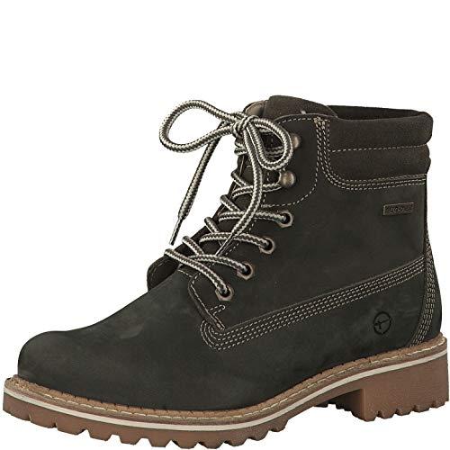 Tamaris Damen Stiefeletten 26244-23, Frauen Schnürstiefelette, Women's Woman Freizeit leger Stiefel Chukka Boot halbstiefel,Forest,40 EU / 6.5 UK
