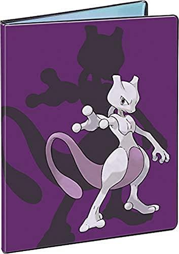 Pokémon - Portfolio Mewtwo 180 cartes - Jeu de cartes à collectionner - Accessoire de rangement