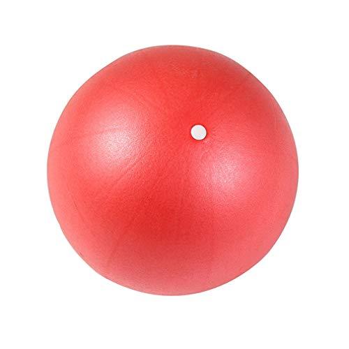 PVC Yoga Ball Balance Medicine Ball Niños Mujeres Embarazadas Entrenamiento físico (Rojo)