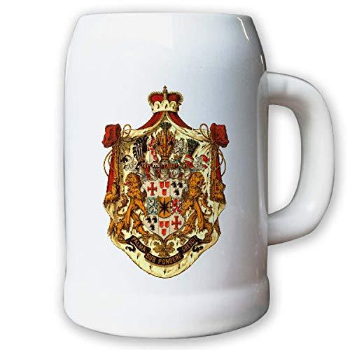 Krug/Bierkrug 0,5l - Fürstentum Waldeck & Pyrmont Adel Weimarer #9435