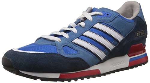 adidas Herren ZX750 Low-Top, Blau (Bluebird/Running White FTW/St Dark Slate F13), 42 2/3