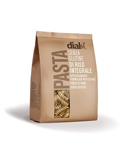 Dialsì Fusilli Pasta senza Glutine di Riso Integrale - 400 G