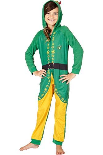 INTIMO Elf The Movie Buddy The Elf One Piece Costume Pajama Set,...