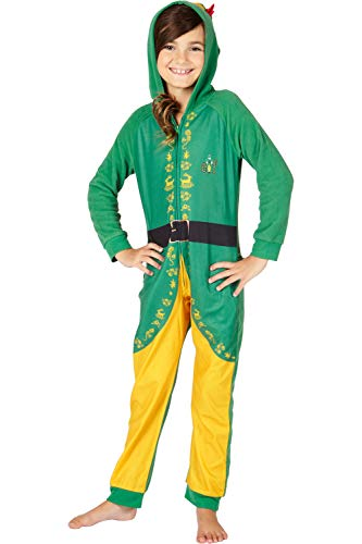 INTIMO Elf The Movie Buddy The Elf One Piece Costume Pajama Set,...
