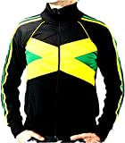 UHari Chaqueta Sudadera Rasta Reggae Jamaica Rastafari Unisex Cremallera Bolsillos Todas Tallas (2XL)