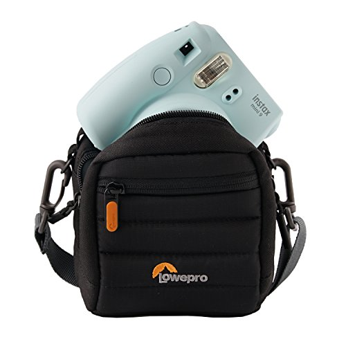 lowepro memory cards Lowepro LP37065-0WW, Tahoe CS 80 Case for Camera, Fits Ultra-Compact Cameras, Batteries, Memory Card, Lightweight, Weather Resistant, Black