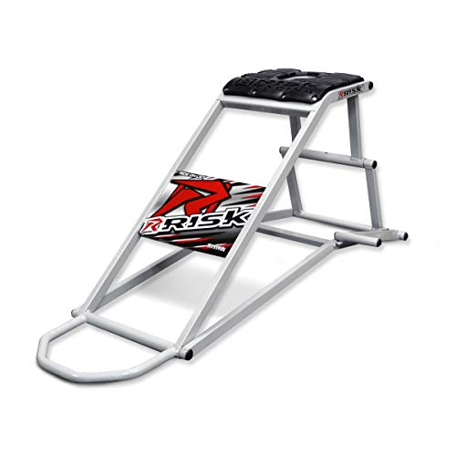 Risk Racing 00174 Silver Lock-N-Load PRO-Strapless Motocross Transport System