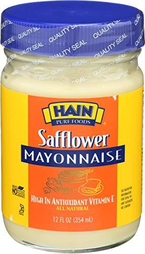 food mayonnaises Hain Pure Foods Safflower Mayonnaise, 12 oz.
